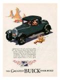 Buick  Magazine Advertisement  USA  1926