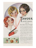 Tangee  Magazine Advertisement  UK  1930