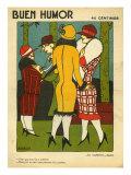 Buen Humor  Magazine Cover  Spain  1926