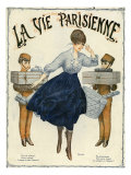 La Vie Parisienne  Magazine Cover  France  1916