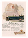 Cadillac  Magazine Advertisement  USA  1925