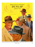 Dunlap  Magazine Advertisement  USA  1950