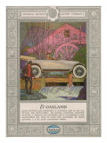 Oakland  Magazine Advertisement  USA  1920