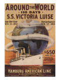 Hamburg American Line  Magazine Plate  USA  1912