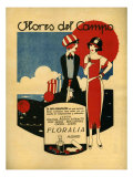 Floralia  Magazine Advertisement  Spain  1919