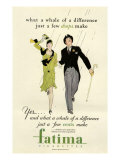 Fatima  Magazine Advertisement  USA  1930