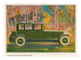 Brougham Car  Magazine Advertisement  USA  1925