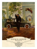 Pierce-Arrow  Magazine Advertisement  USA  1920