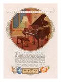 Wurlitzer  Magazine Advertisement  USA  1920