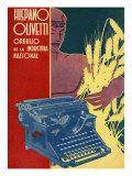 Hispano Olivetti  Magazine Advertisement  Spain  1936