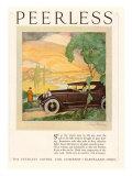Peerless  Magazine Advertisement  USA  1924