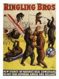 Ringling Bros  Poster  1900
