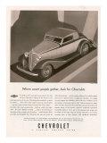 Chevrolet  Magazine Advertisement  USA  1933