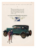 Buick  Magazine Advertisement  USA  1927
