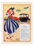 Baker Electric Cars  Magazine Advertisement  USA  1910