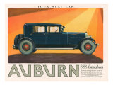 Aubern  Magazine Advertisement  USA  1926