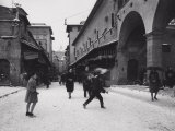 Ponte Vecchio with Snow