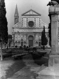 Santa Maria Novella Church in the Square of the Same Name  Florence
