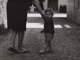 Baby Taking a Walk