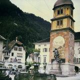 Square in Altdorf  Switzerland