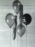 Group of Balloons of Various Forms  Retouched and Altered During Development