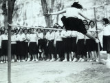 Group of Youth Gymnasts During the Fascist Period
