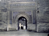 Ancient City Gate in Morocco