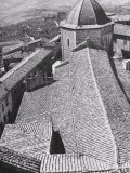 Roof of the Cathedral in Volterra