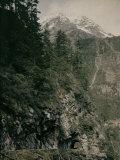 The Tete-Noir Quarries Near Trient  Switzerland