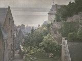 Street in Mont-Saint-Michel  France