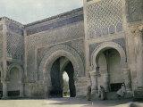 Door in Fez  Marocco