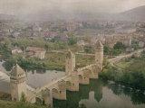 Valentre Bridge at Cahors  France