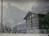 Grindelwald  Famous Tourist and Winter Sport Destination  Switzerland