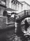 Little Bridge over a Canal  in Venice
