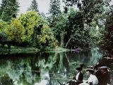 Fishing at Montigny