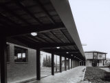 Covered Walkway  State Run Professional Institute for the Industrialist and Artisan Alfredo Ferrari