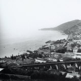 The Barcola Overpass and the Coast Up to Miramare in Trieste