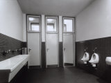 Bathroom in State Run Professional Institute for the Industrialist and Artisan Alfredo Ferrari