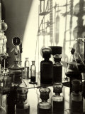 Laboratory of the Naarden Leepen Factory  Specializing in the Production of Base for Perfume