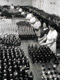 Women Workers Busy in a Brewery