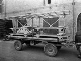 Red Cross Wagon  During World War II