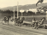 First International Sulky Race 1910 Fall Reunion  at the Montebello Racetrack in Trieste
