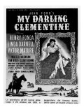 Billboard Advertising the US Film My Darling Clementine
