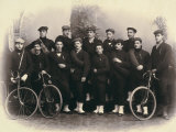 Group Portrait of Cyclists
