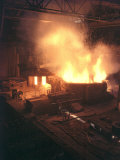 Steel Mill Modena  Producing Iron