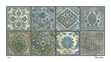 Moroccan Tiles - Silver