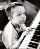 Child Sitting at the Piano