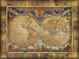 Terrarum Orbis Reproduction d'art par John Douglas