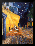 The Café Terrace on the Place du Forum  Arles  at Night  c1888