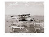 Dormier Do-X  in Flight over Norfolk  Virginia  1931
